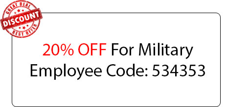 Military Employee Coupon - Locksmith at Fairfield, CA - Fair Field Ca Locksmith